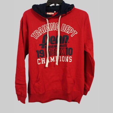 Penn super comfortable carm red pull over hoodie-jogging hoodies