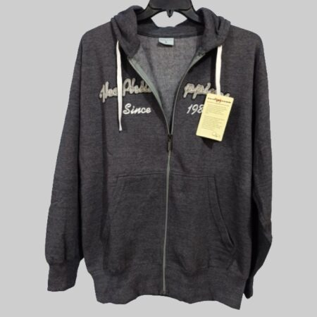 royal class export leftover charcoal fleece hoodie