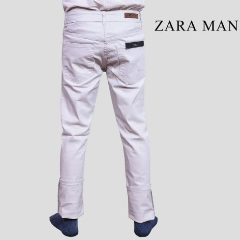 6386666bac Zara Man Off White Slim Fit Jeans