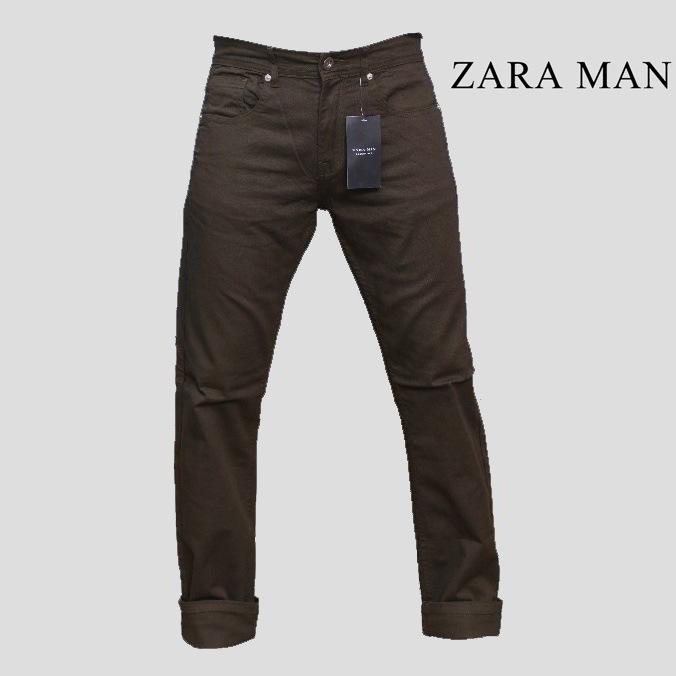 b54528a6 Zara Man Dark Green Swag Slim Fit Jeans - Shop Online in Pakistan