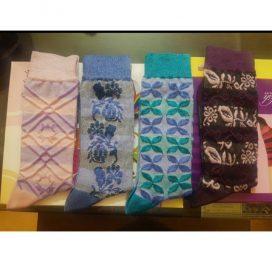 pack of 4 ladies socks