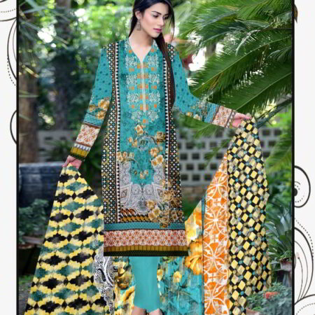 Embroidered Lawn Suit buy online