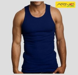 arin navy blue tank top vest
