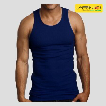 arin navy blue tank top vest