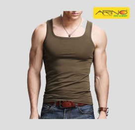 arino brown tank top sando vesst