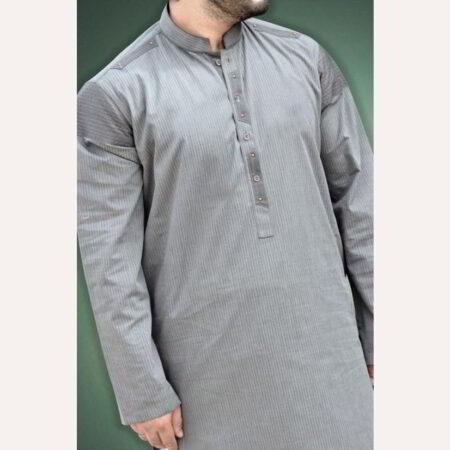grey kurtan mens online