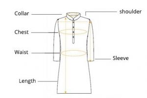 kurta-size-measurement