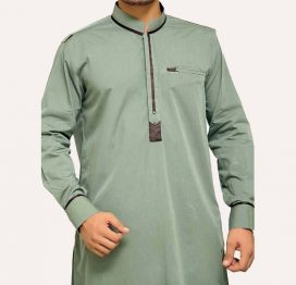 light green mens kurta online