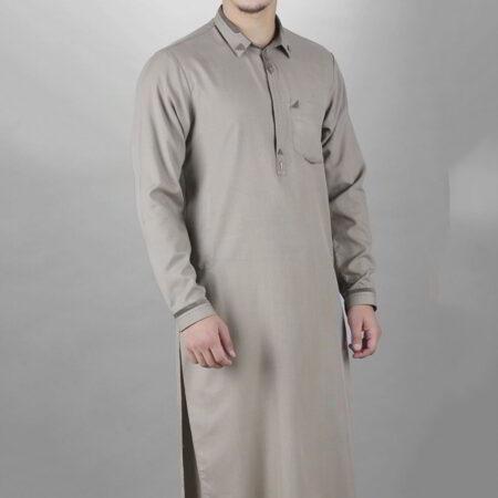 pakistan grey design kurta