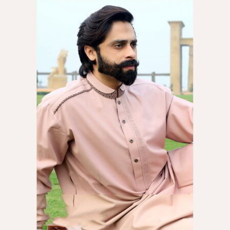 rosy red kurta for mens