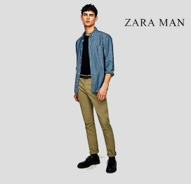 c07624fe Out of Stock · zaraman rust green strechable slim fit cotton chino zara man  rust green jeans ...
