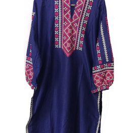 blue-embroidered-kurti