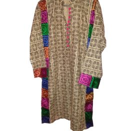 lawn embroidered shirt kurti