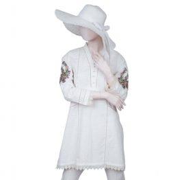 saya pret shirt white lawn (3)