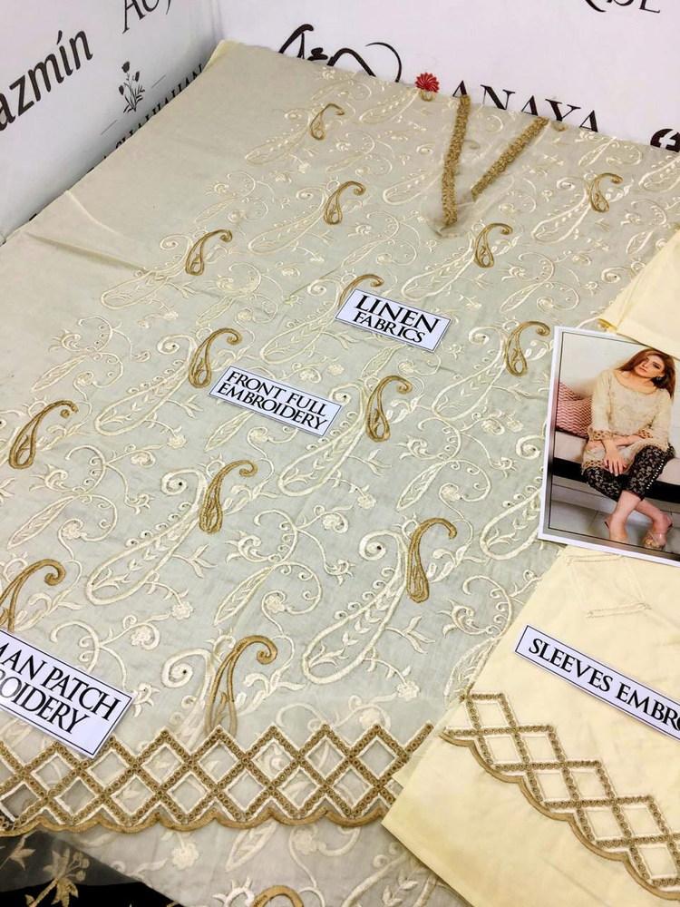 maria b replica linen suit