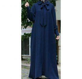 blue burqa abaya