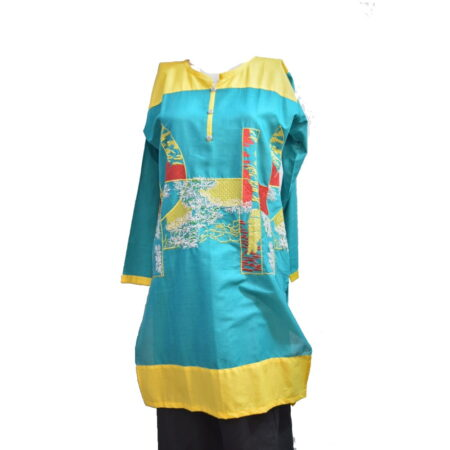 yellow-green-kurti