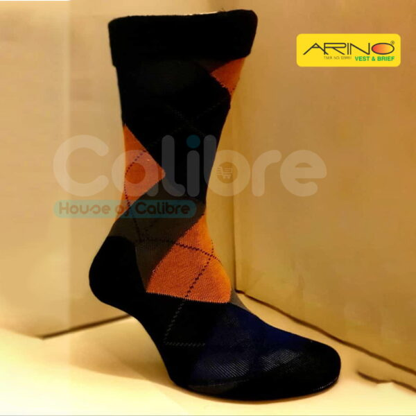 arion socks black malt