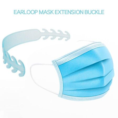 mask neck guard for relaxation of earloop