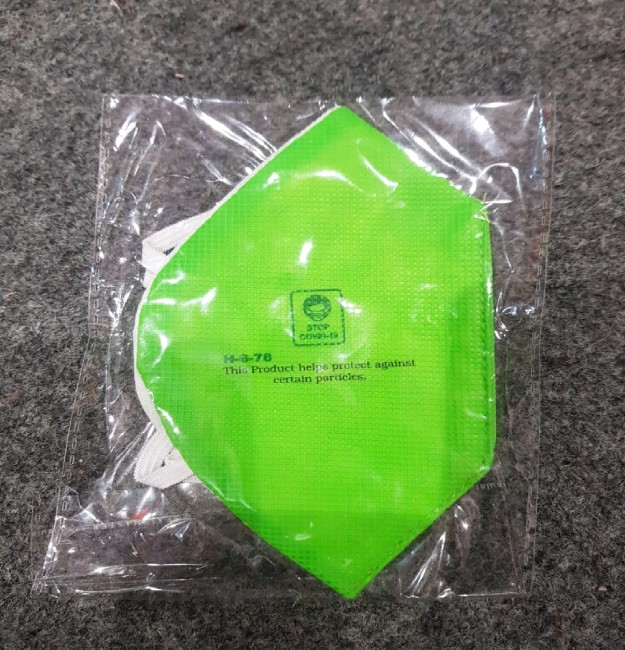separate packing non woven facemask