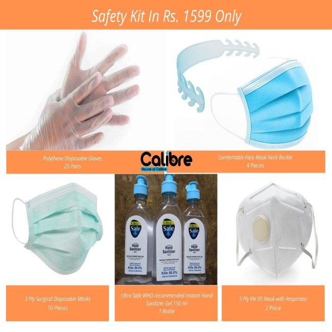 safety kit for germs protection