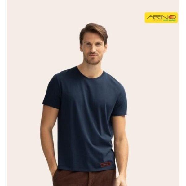 round neck 100% cotton t shirts for men online