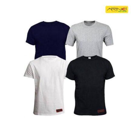 plain cotton t shirts pack