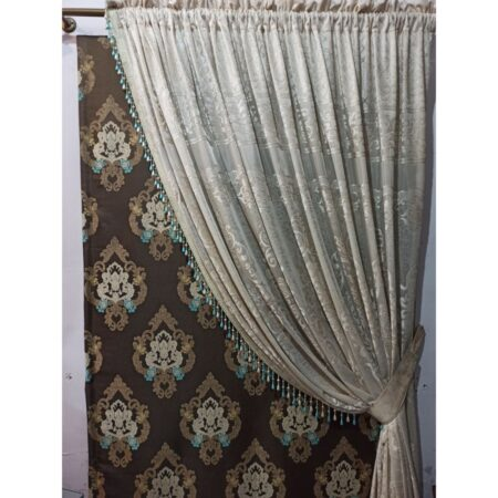 jacquard net curtain