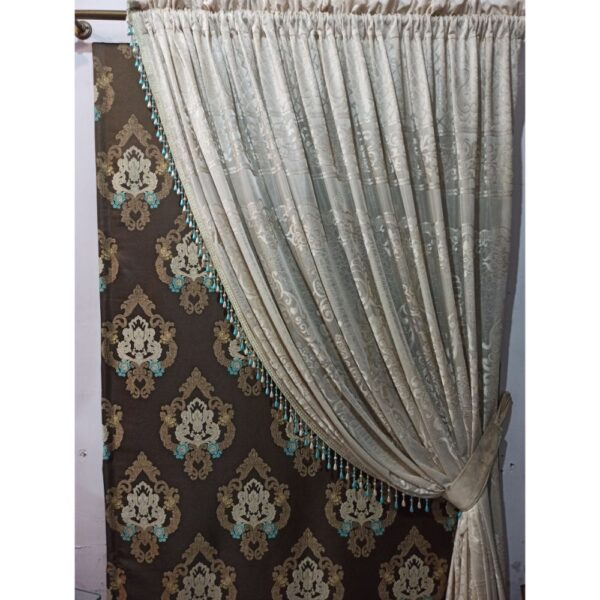 jacquard net curtain
