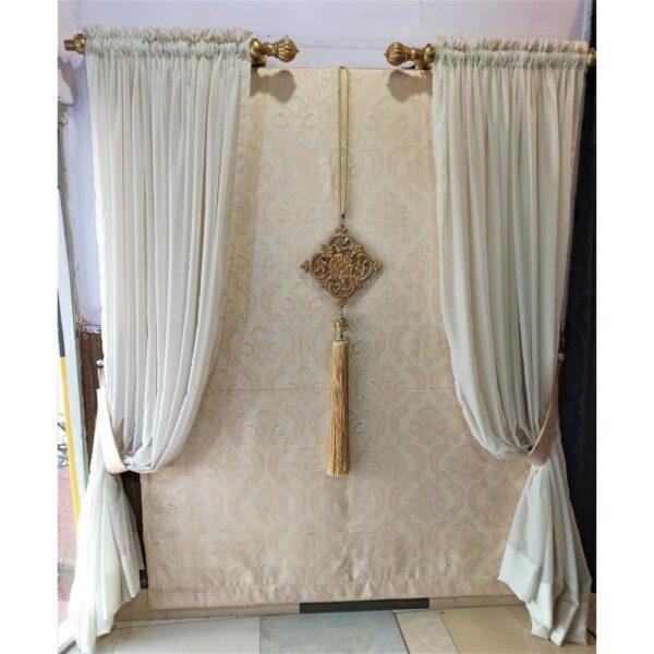 Grace of White Eyelet Curtain