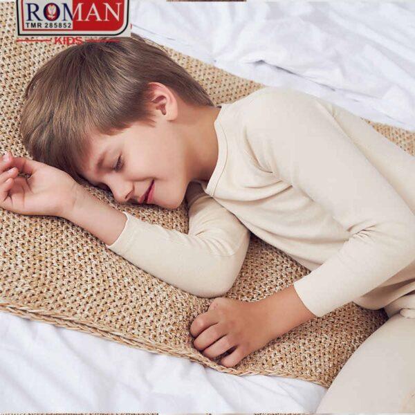kids winter rib cotton under suit