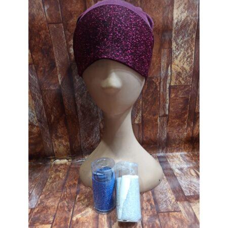 different color hijab cap designs