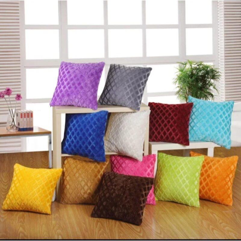 decent single color decent cushions