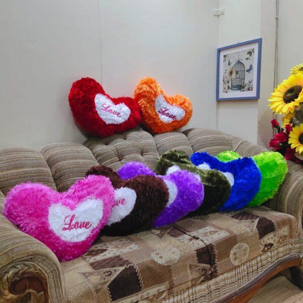 heart shape love cushions