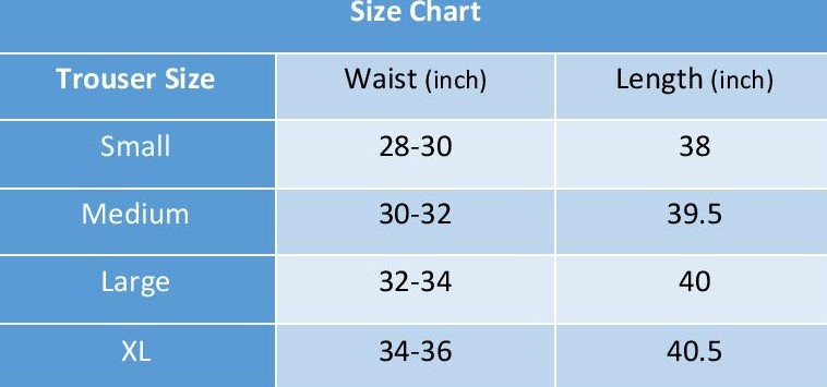 size and measurements