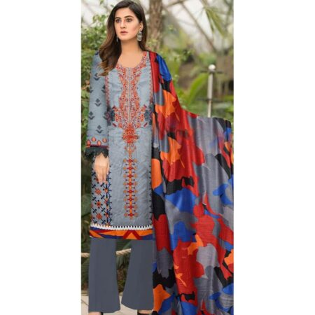 charizma embroidered linen collection winter 2020