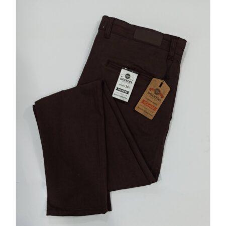 dark brown pants-Cotton jeans-semi frmal pants-dockers-leftovers export quality pants-semi casual pants-branded pants-online office pants-big size pants-solid color pants-calibre