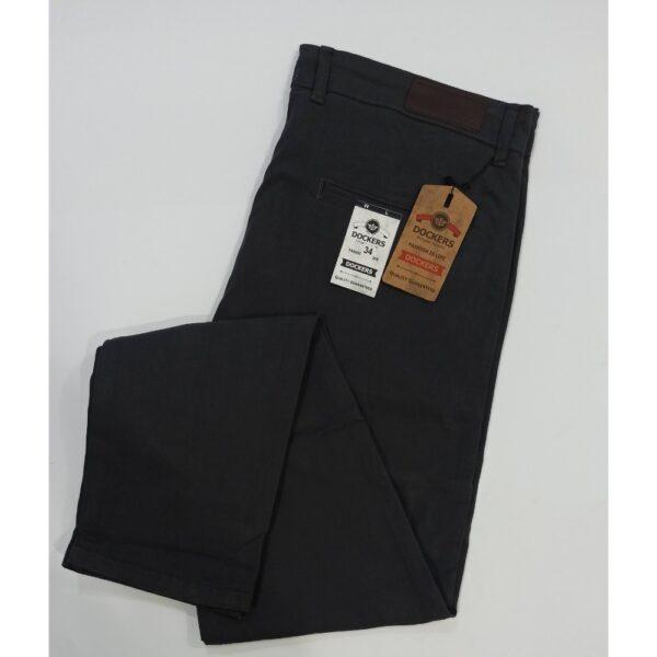 Dark grey- cotton jeans-semi frmal pants-dockers-leftovers export quality pants-semi casual pants-branded pants-online office pants-big size pants-solid color pants-calibre