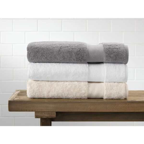 sorted pack of 3 ultra soft terry viscose cotton branded towels by towel showel (2)