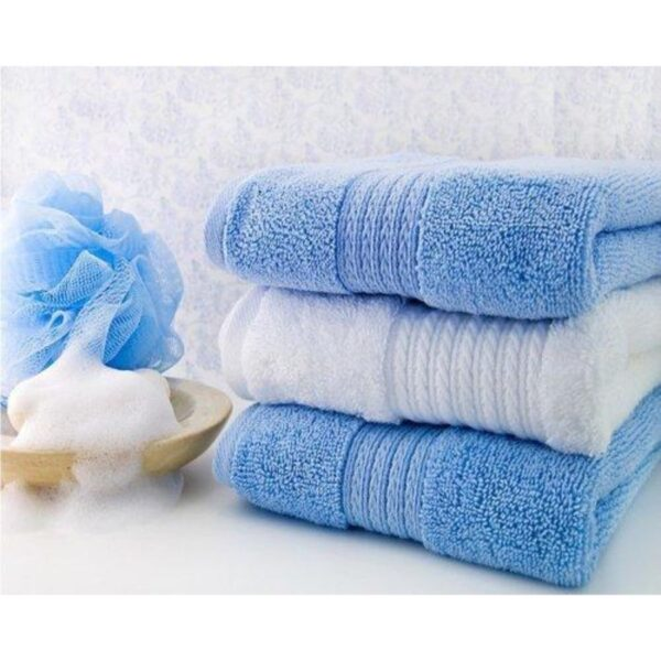 sorted pack of 3 ultra soft terry viscose cotton branded towels by towel showel (5)