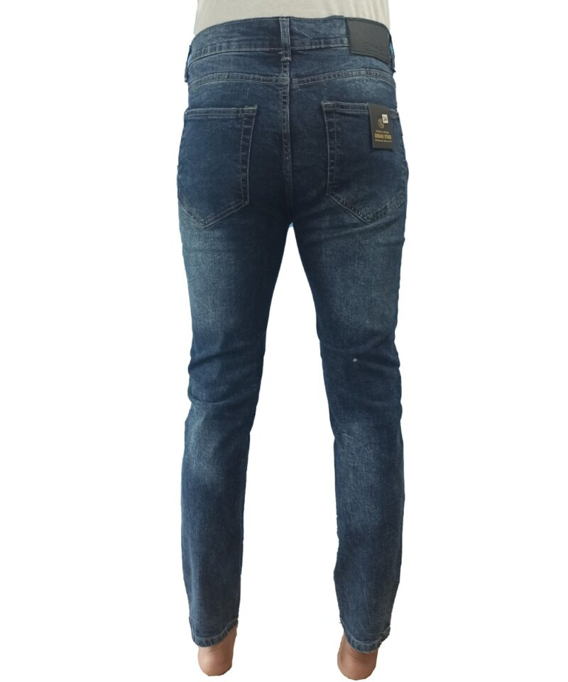 Stretchable Semi Washed Jeans Pant