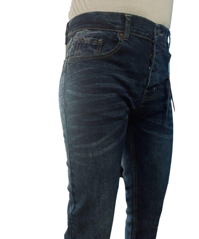 US Semi Washed Indigo Denim Pants