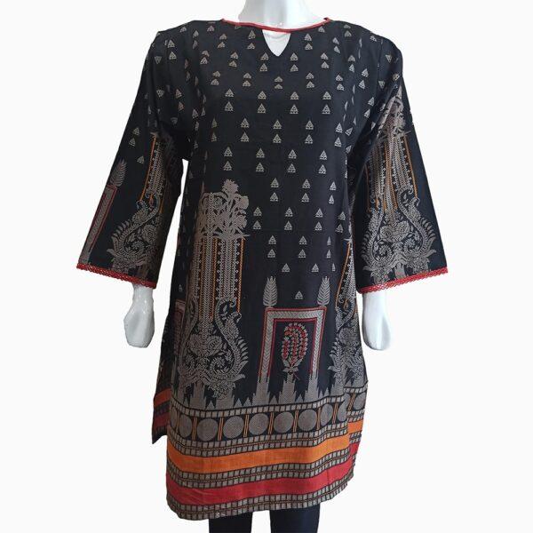 black-designer-lawn-kurti-1