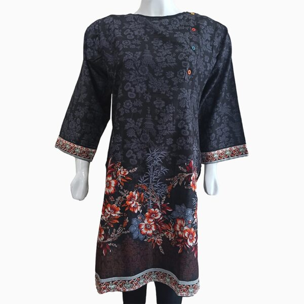 black-lawn-kurti-flower-design-1