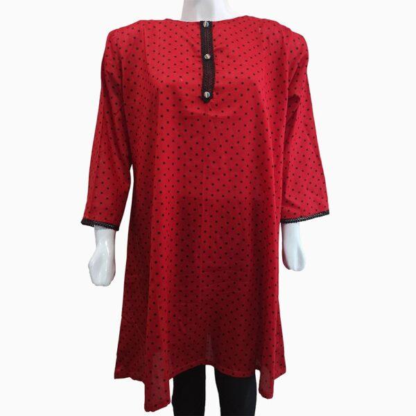 polka-dot-wine-red-sitched-female-shirts-3