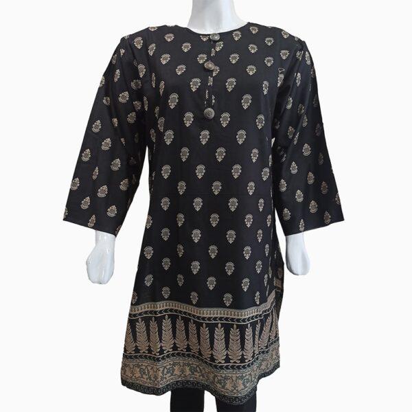 royal-black-printed-kurti-3