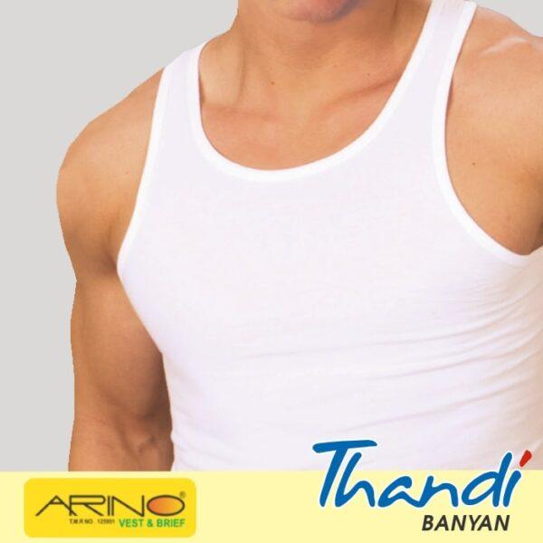 Arino Thandi Banyan Sleeveless Men's Vest