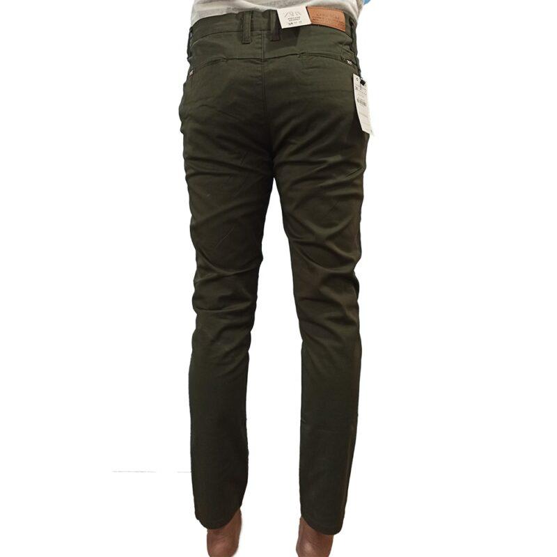 Cotton Jeans Dark Green Zara