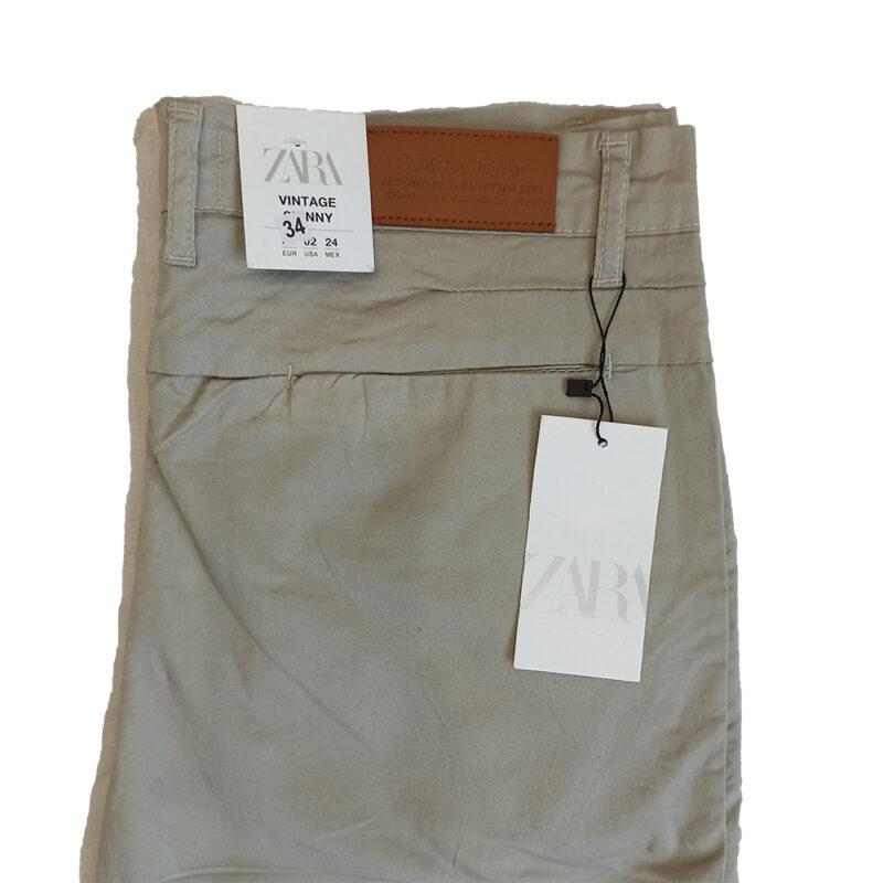 Original Zara Skinny Fit Cotton Dress Pants
