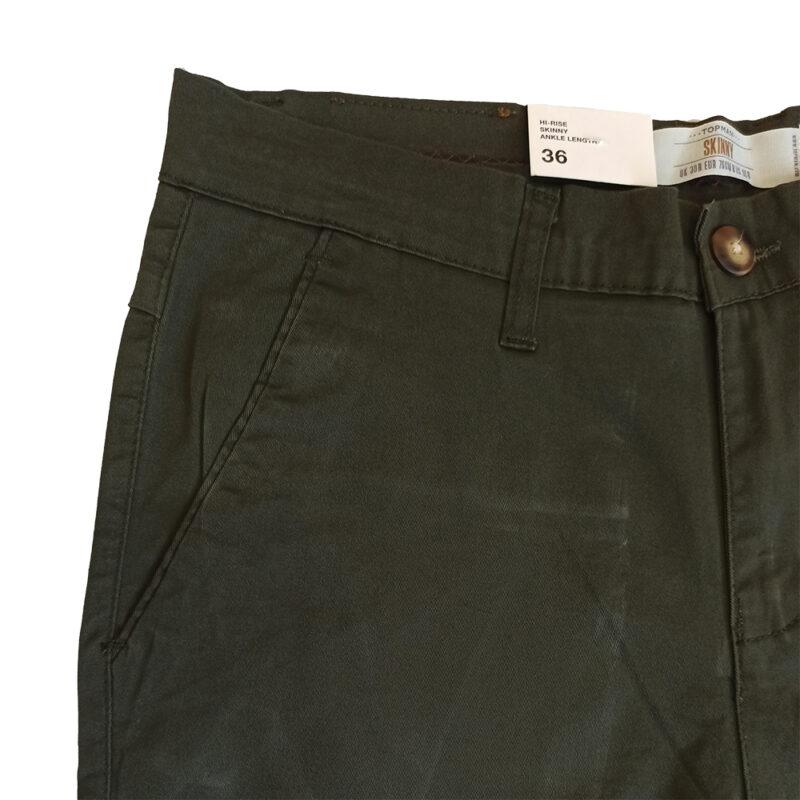 Sea Green Cotton Pants
